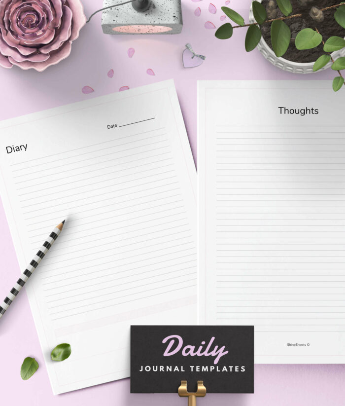 Anxiety Journal Printable – 2(1)
