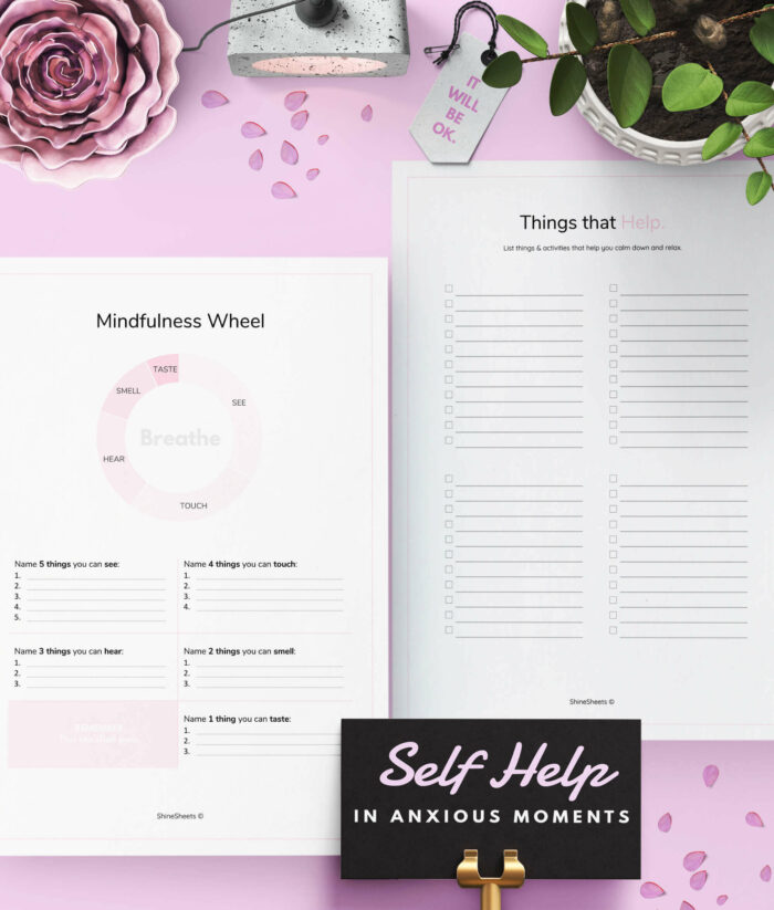 Anxiety Journal Printable – 4(1)