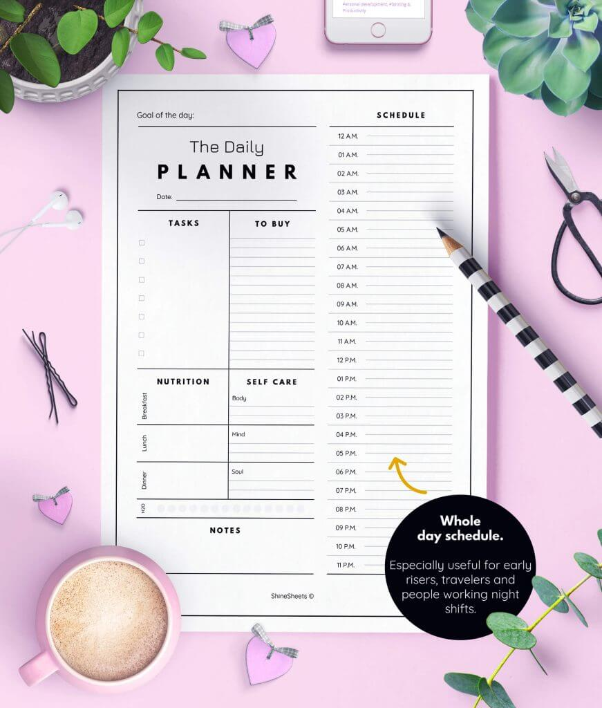 Daily Planner AM PM Layout Printable 3(1)