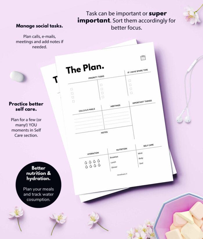 Daily Planner – Agenda Printable – 2(1)