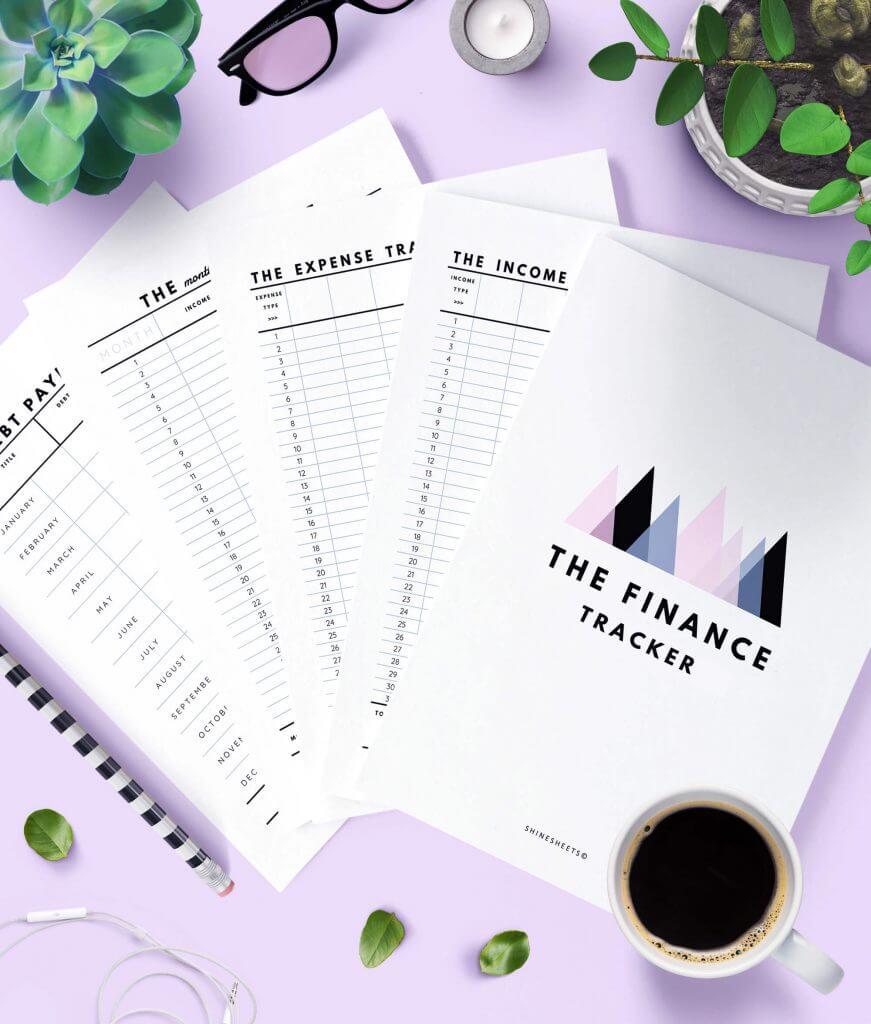 Finance Tracker Printable – 1(1)