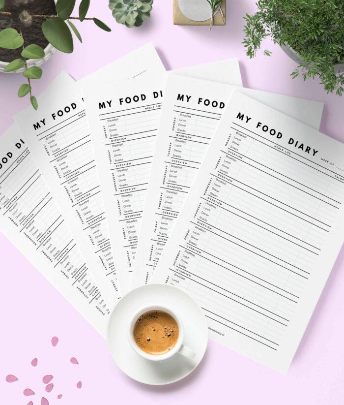 Food Diary Printable – 3(1)