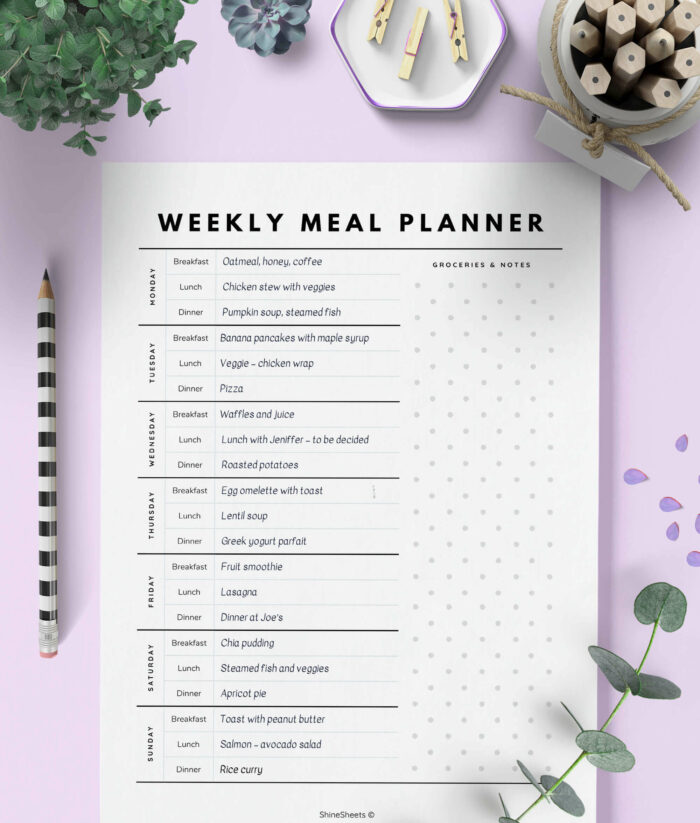 Meal Planner Printable – 2(1)