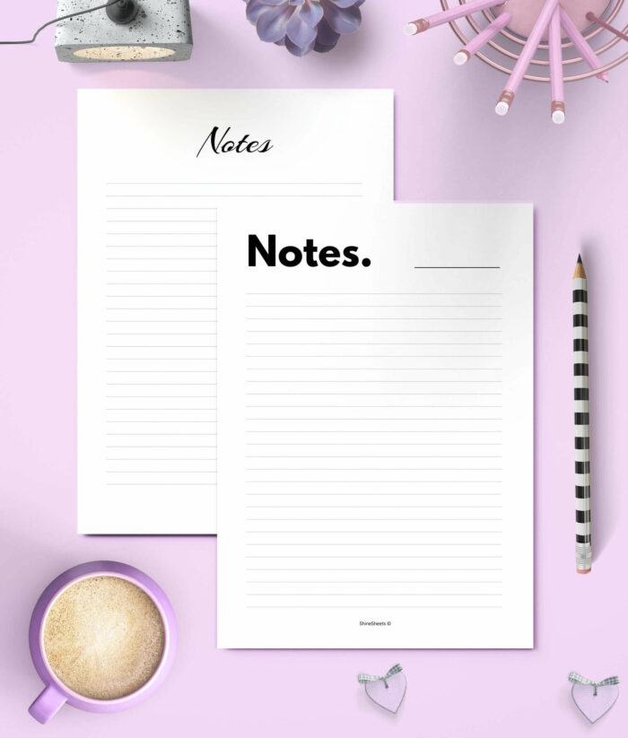 Printable Notes 6(1)