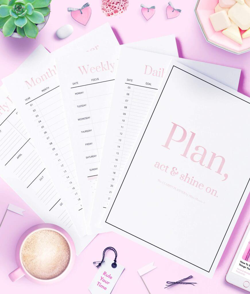 The Clarity Printable Planner Pack 1G(1)
