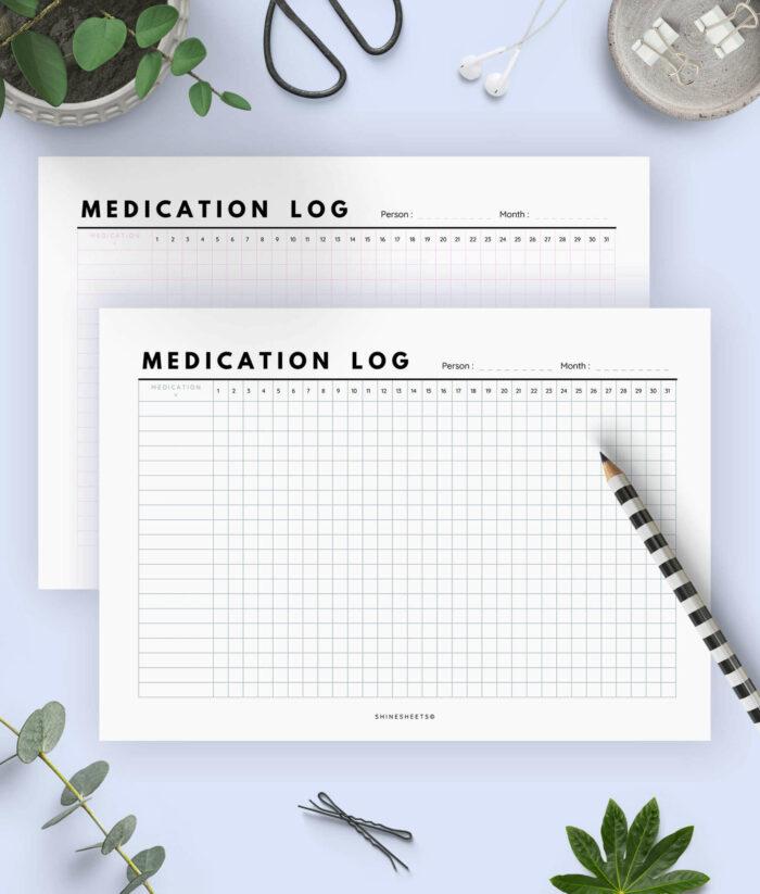 Medication Log Printable 1(1)