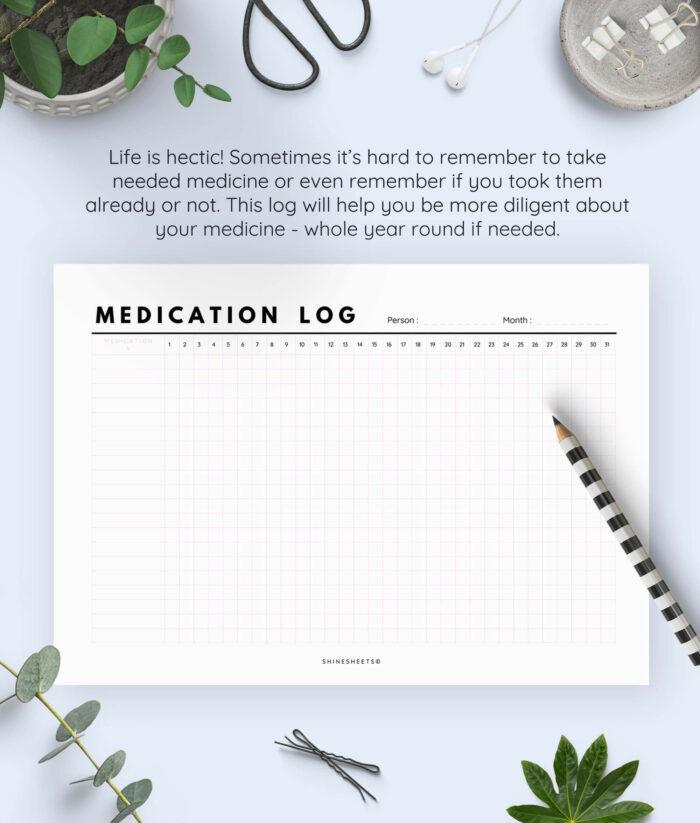 Medication Log Printable 2(1)