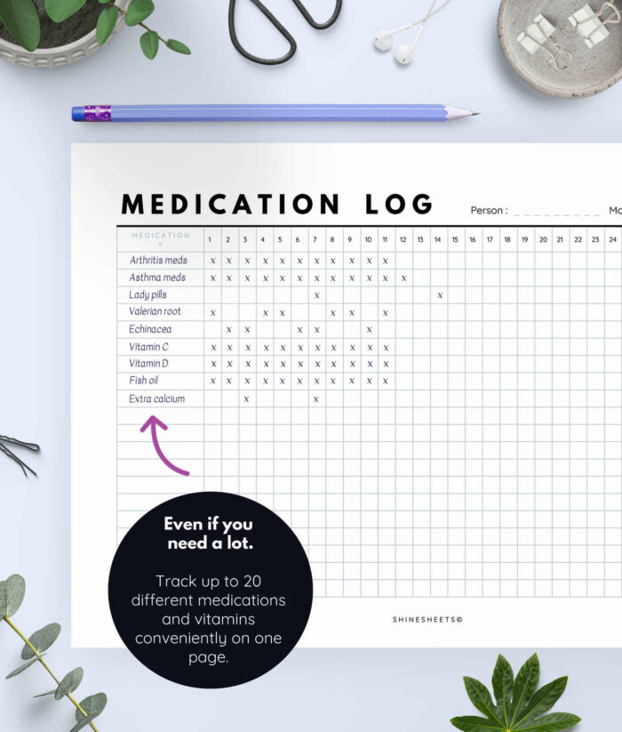 Medication Log Printable 3(1)