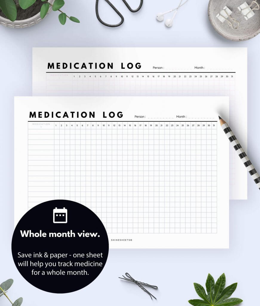 Medication Log Printable 4(1)