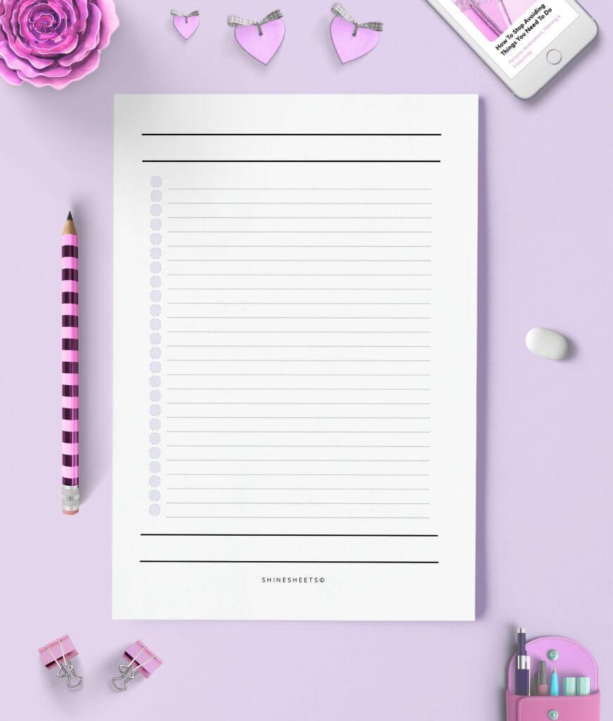 Essential Lists Printable 3(1)