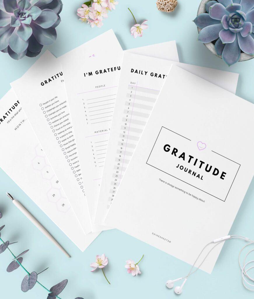 Gratitude Journal Printable – 1G(1)