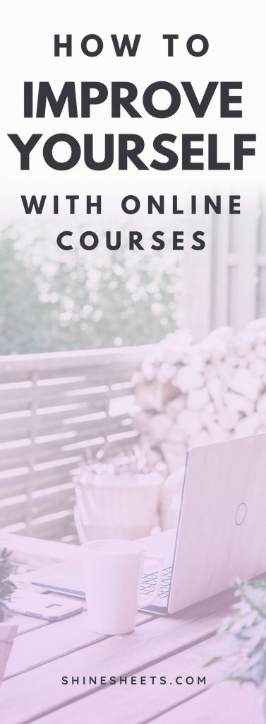 How To Improve Yourself With Online Courses