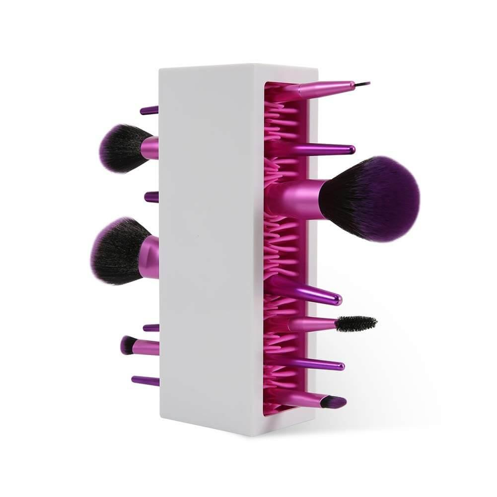 makeup brush organizer for storage