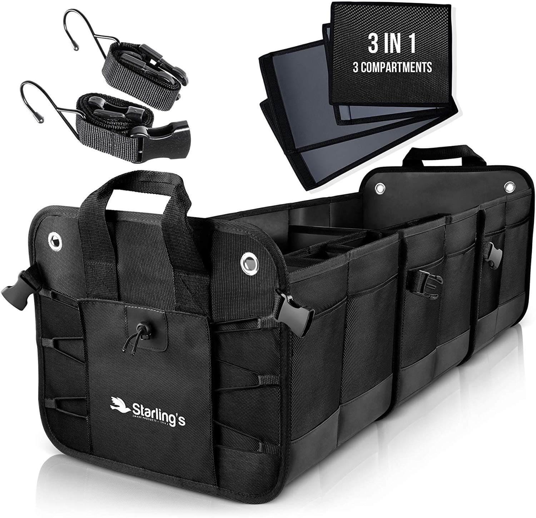 car compartment insert organizing bag for car organization