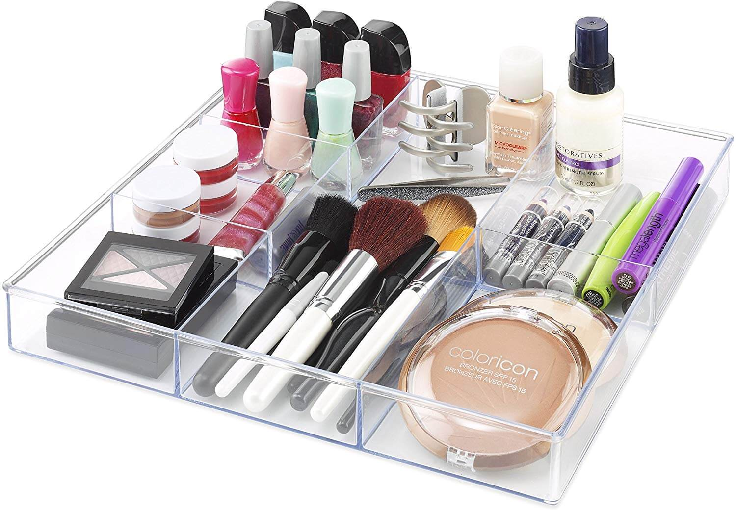 drawer divider box as an idea of how to get organized
