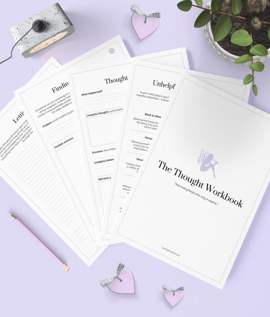 Thought Workbook Printable 1-1