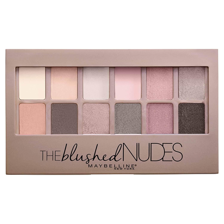 Work makeup eyeshadow palette in blushed tones