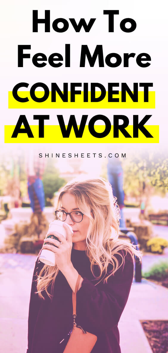 Woman looks unconfident and drinks coffee