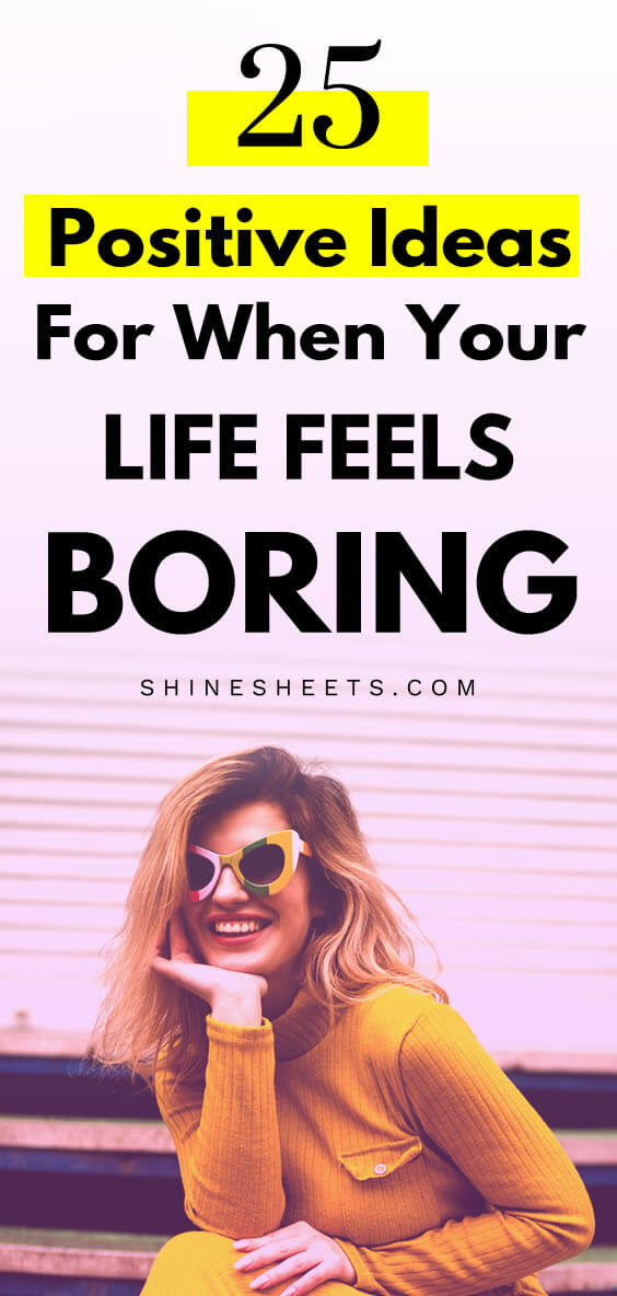 young woman with bright clothes and colorful glasses as an ispiration to change boring life