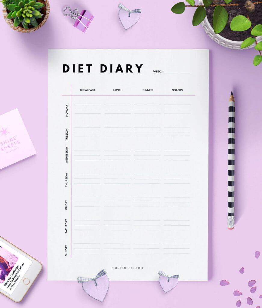 Diet Diary Printable 1(1)