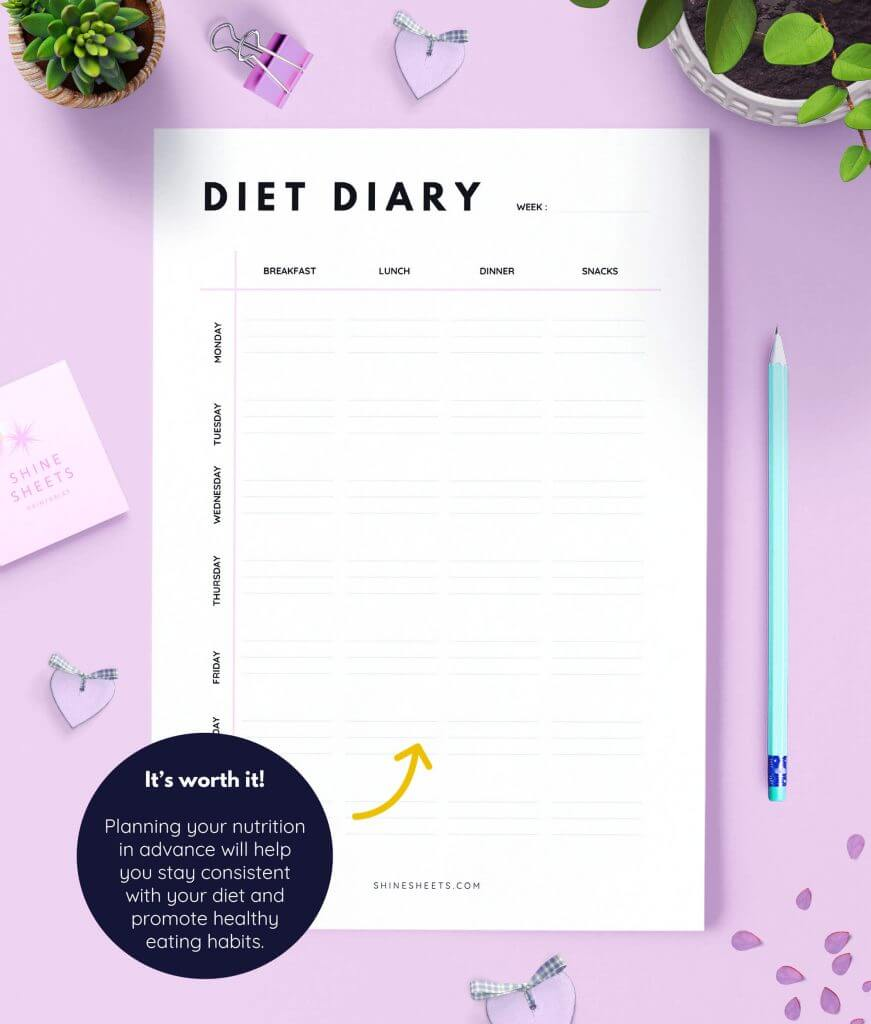 Diet Diary Printable 2(1)