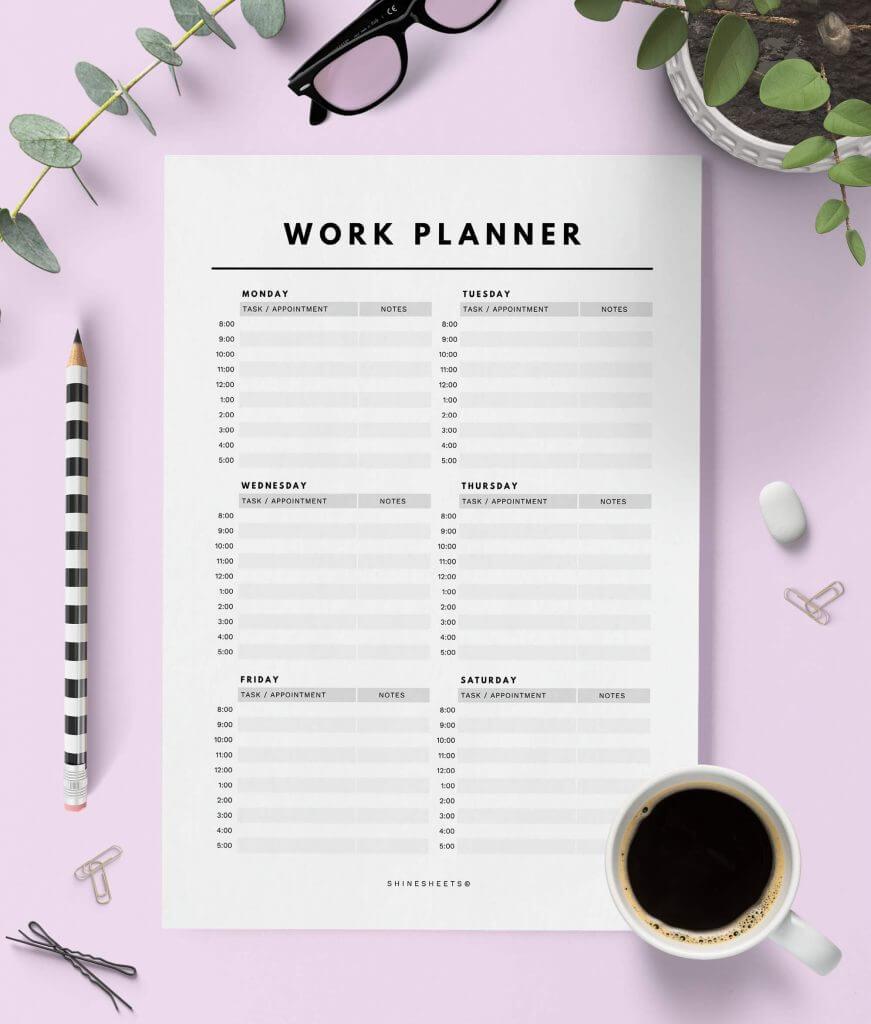 Work Planner Printable -1 (1)