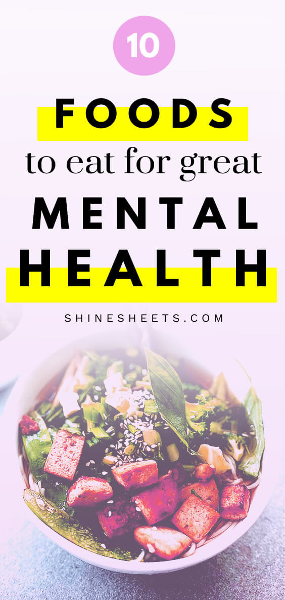 tofu salad as one of the best foods for mental health