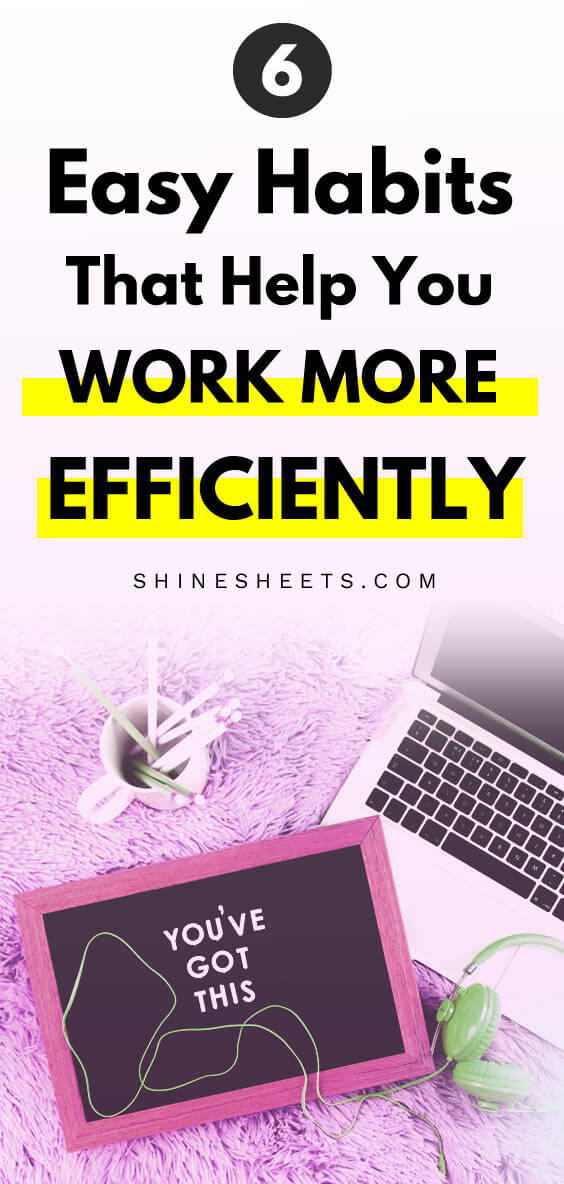 inspiring quote about work efficiency