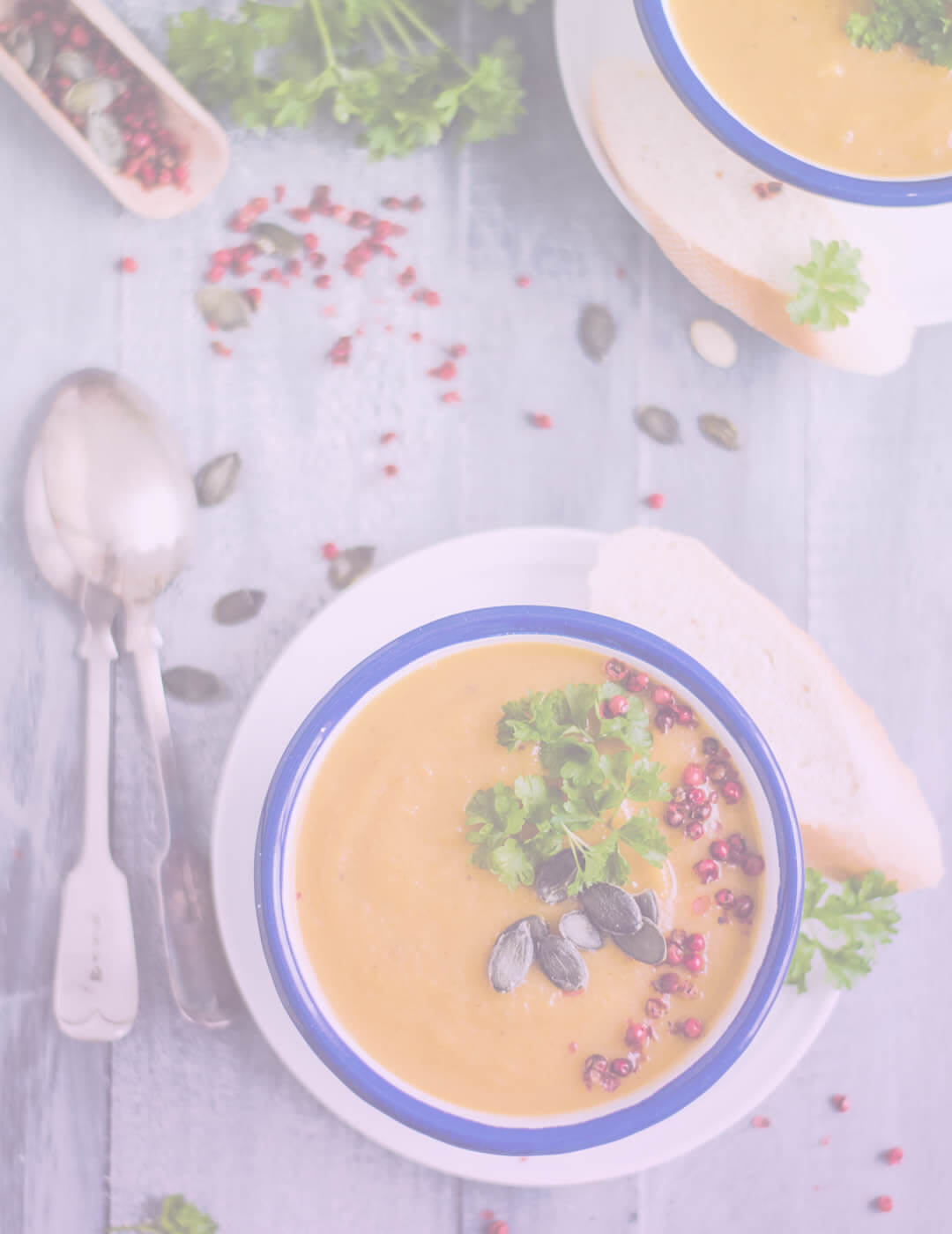 umpkin soup as one of the best foods for mental health