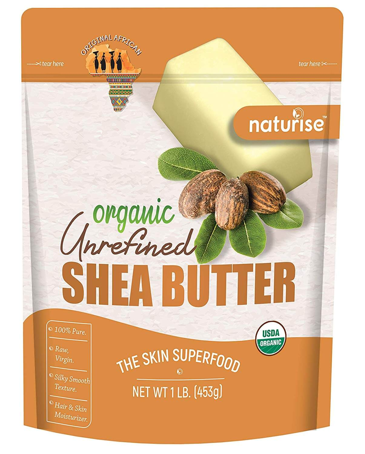 shea butter as one of the best home remedies for dry and frizzy hair