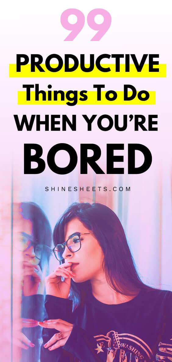 When ur bored