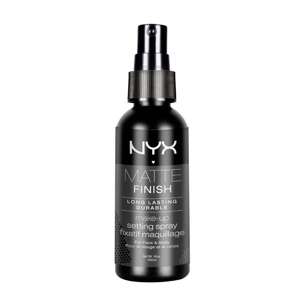 makeup setting spray by nyx as one of the best foundation tips