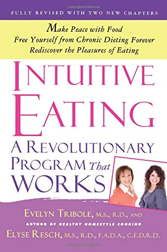 Intuitive Eating a book on how to stop binge eating