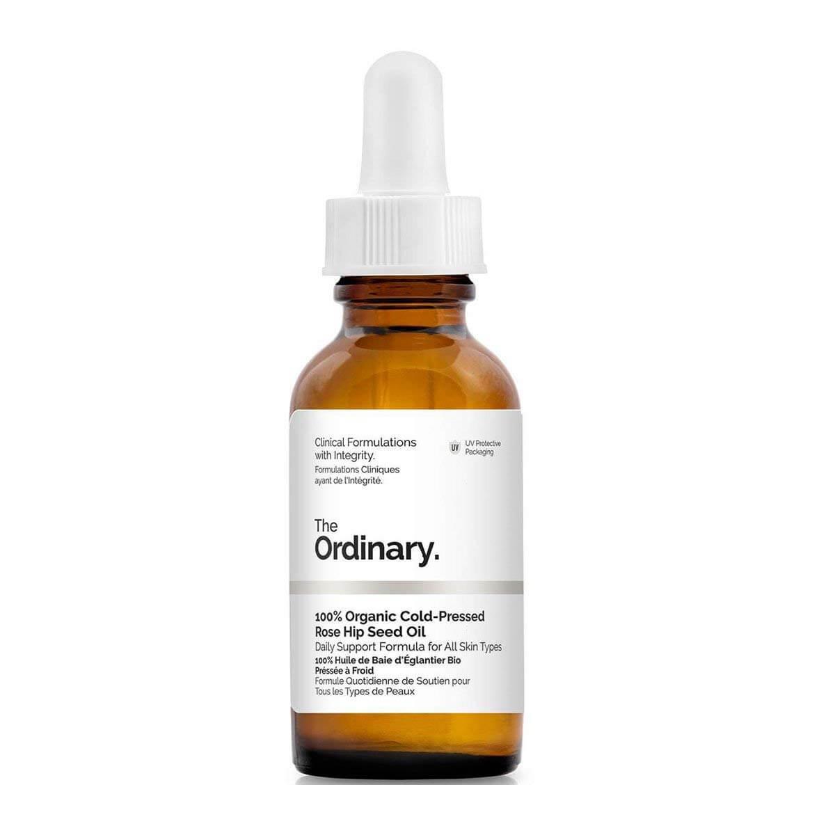 the ordinary 100% organizc rosehip oil for face