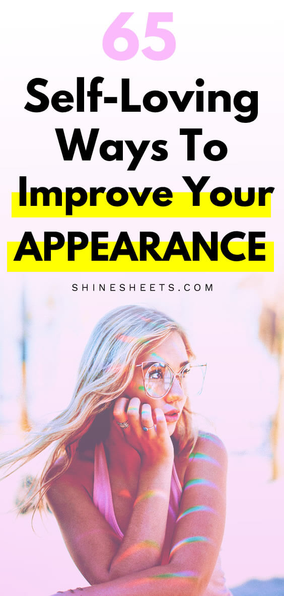 how to improve your appearance