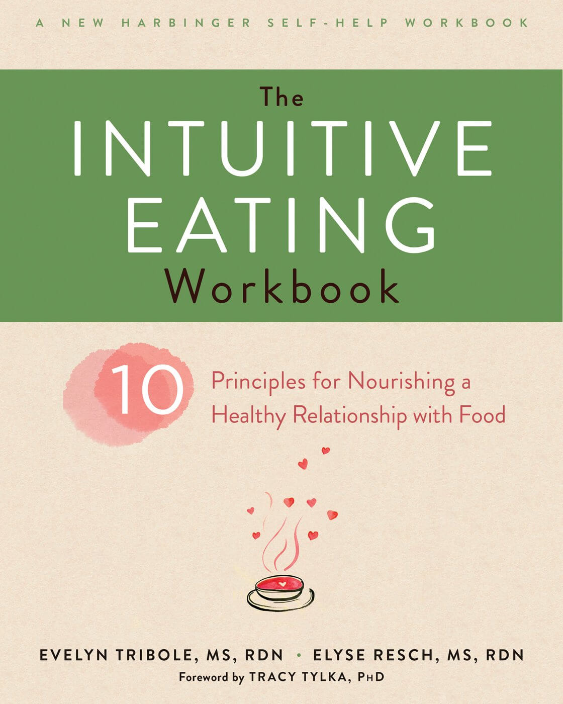 Intuitive eating workbook on how to stop binge eating