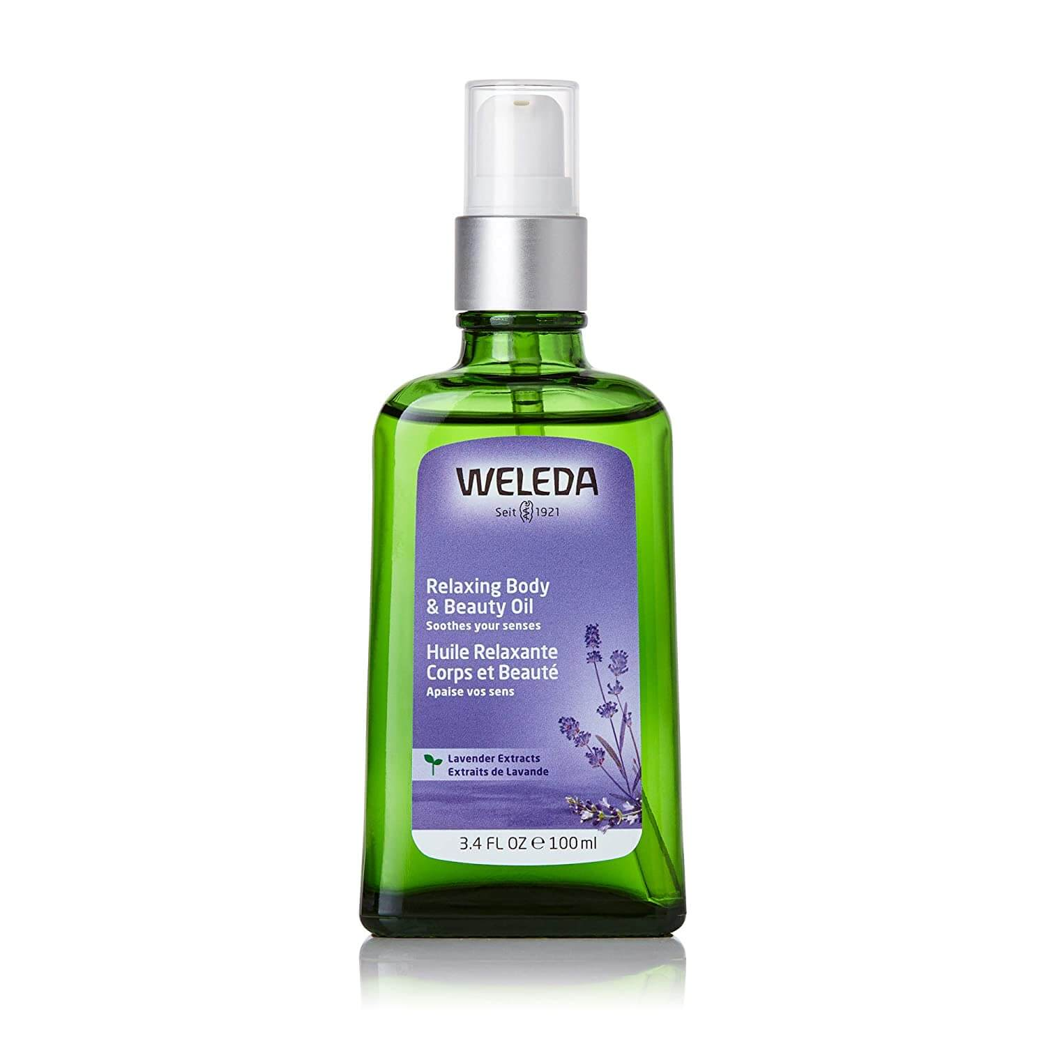 Weleda Relaxing Lavender Body & Beauty Oil as one of the best gifts for people with anxiety