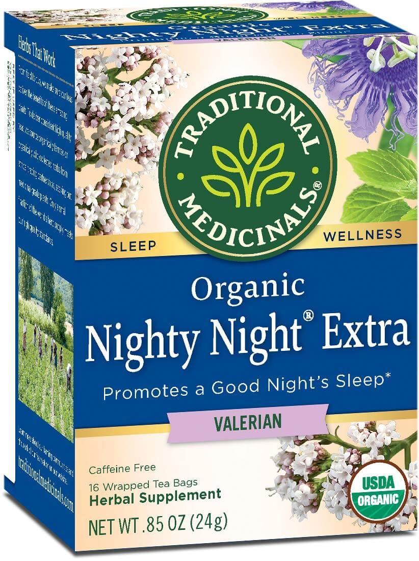 anti-anxiety valerian tea as one of the gifts for people with anxiety
