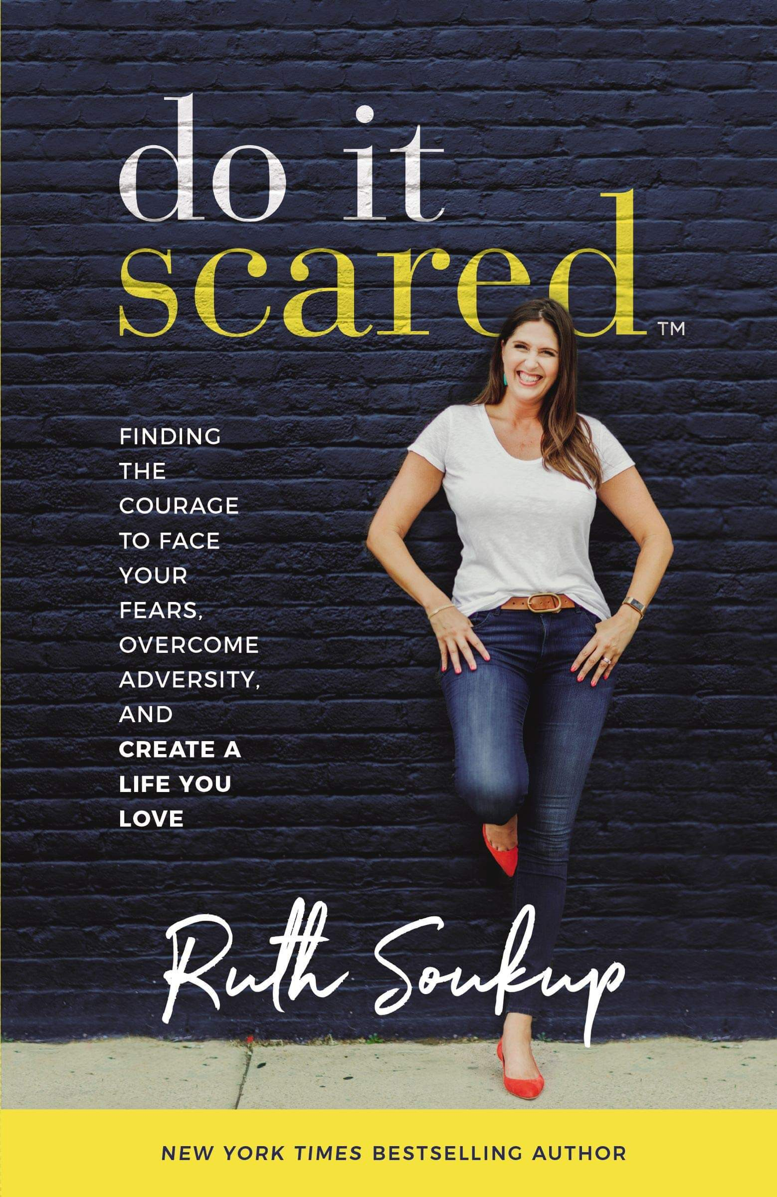 do it scared book recommendation for fear of failure