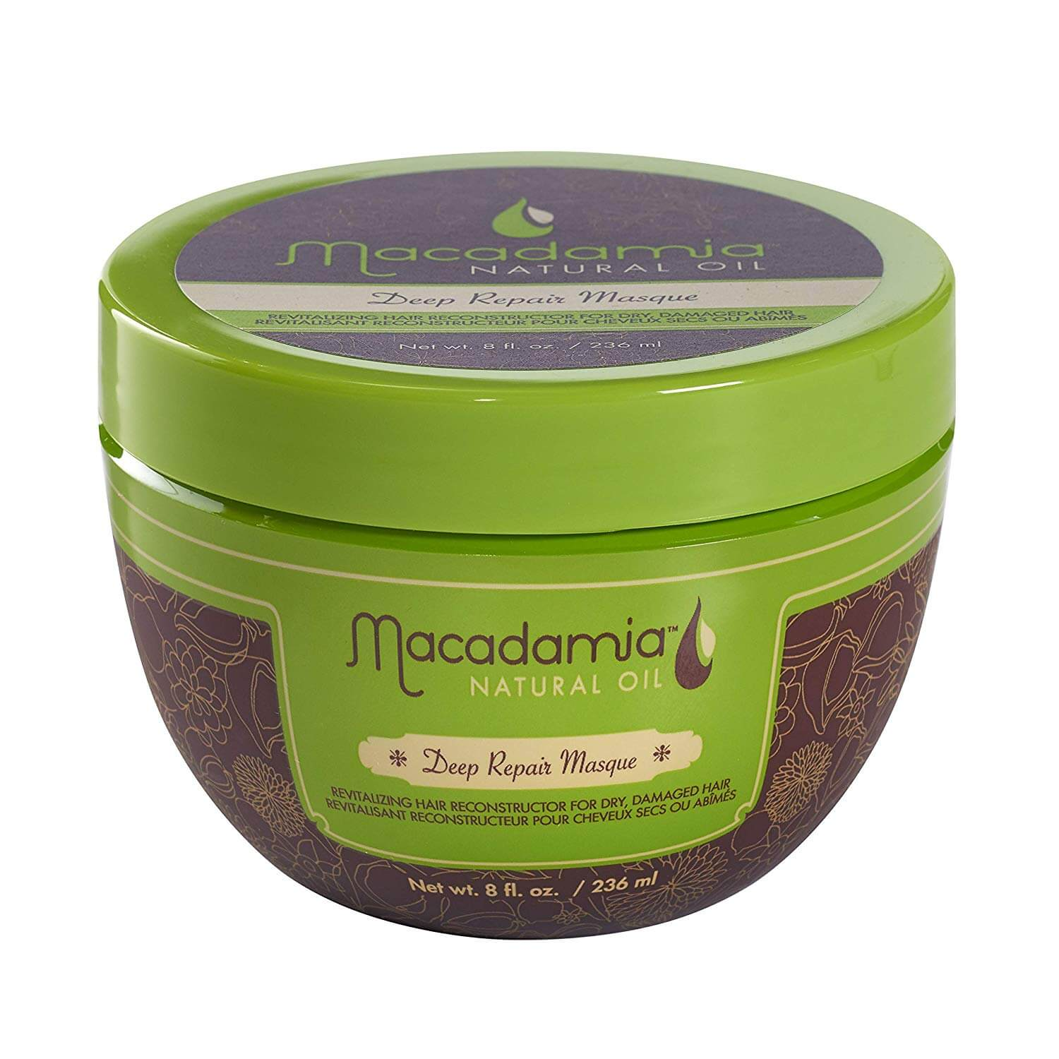 Macadamia Deep Repair Hair Mask as a product pick to make your hair grow faster