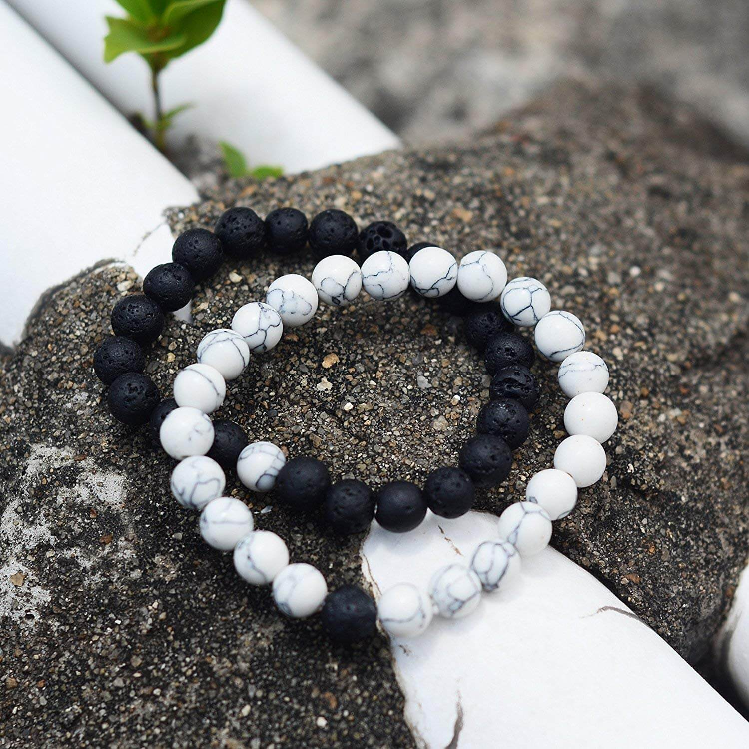 anxiety bracelets as one of the gifts for people with anxiety