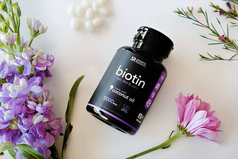 Biotin vitamins that make your hair grow faster