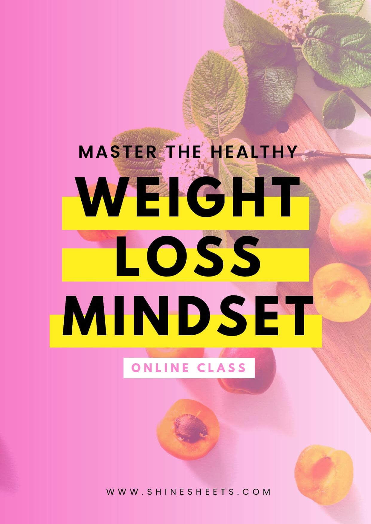 master the healthy weight loss mindset online class e book 42 pages shinesheets. Black Bedroom Furniture Sets. Home Design Ideas