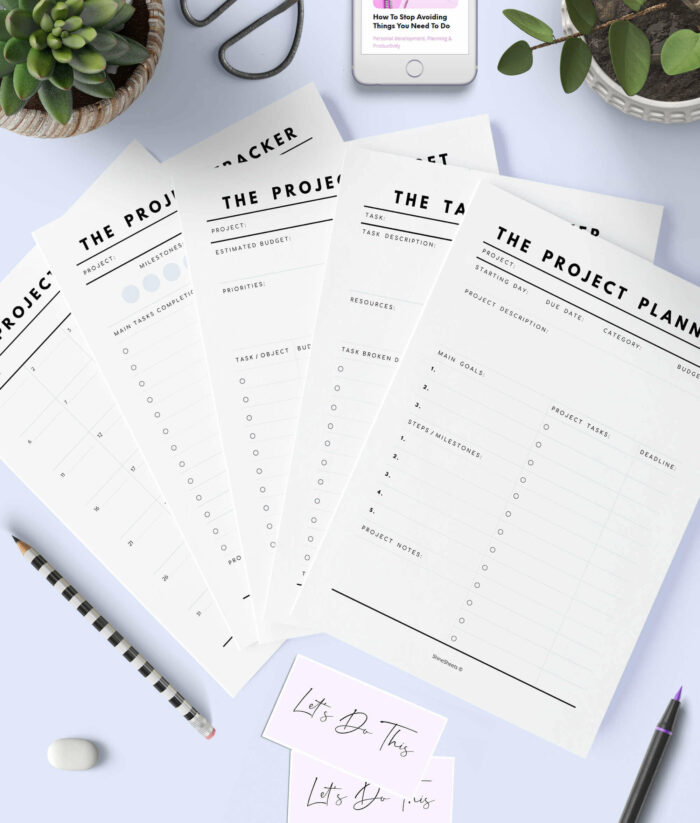 Project Planner Printable – 1(1)