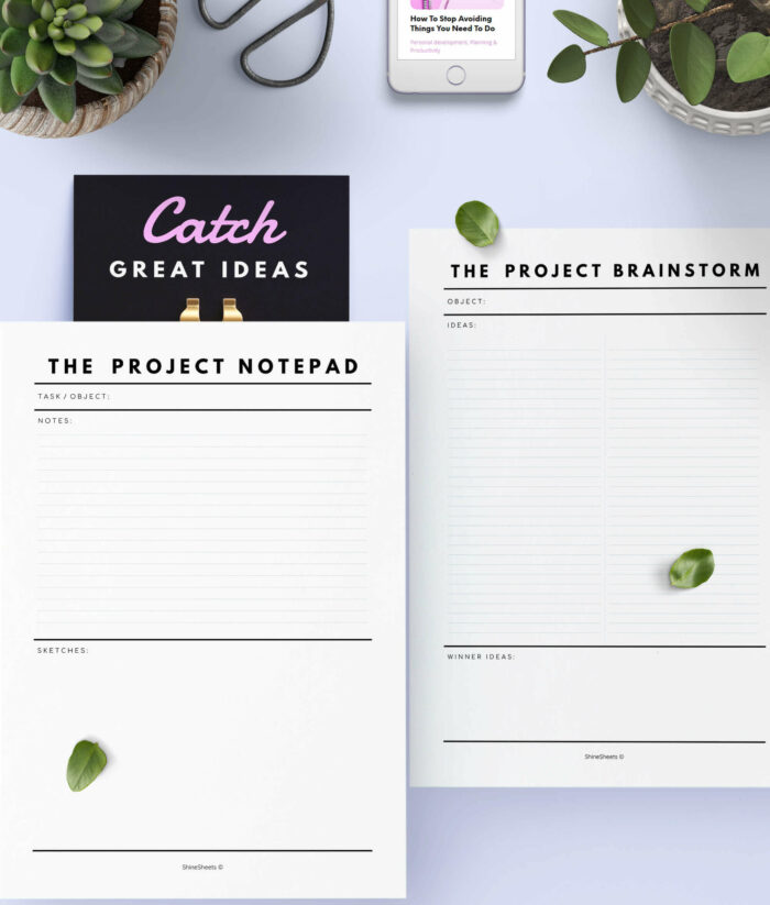 Project Planner Printable – 6(1)
