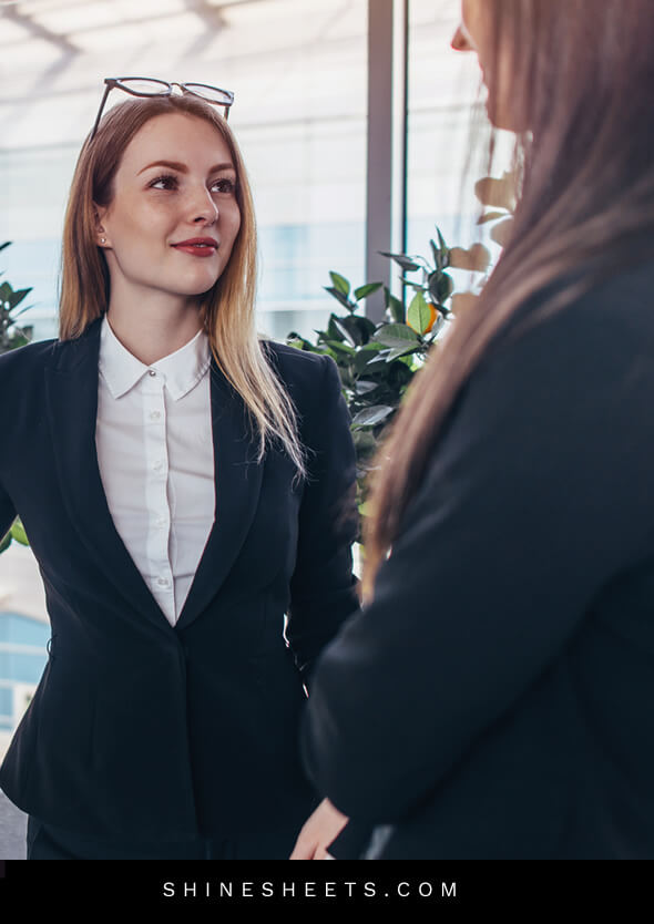 calm woman as an example on how to deal with negative people