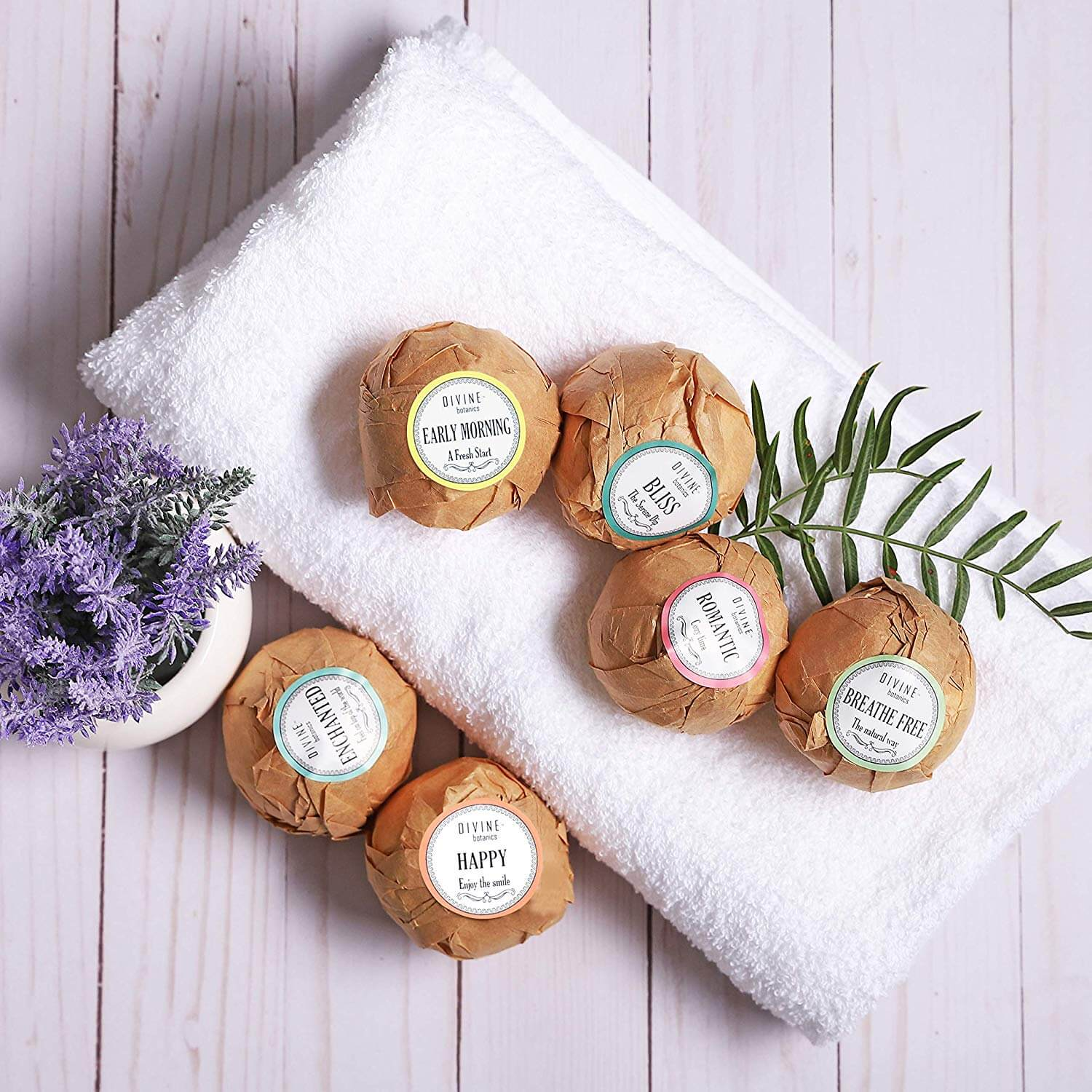 bath bombs for a spa day at home