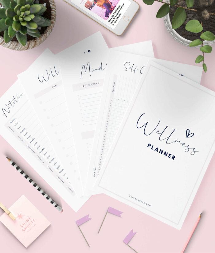 Wellness Planner Printable 1-1