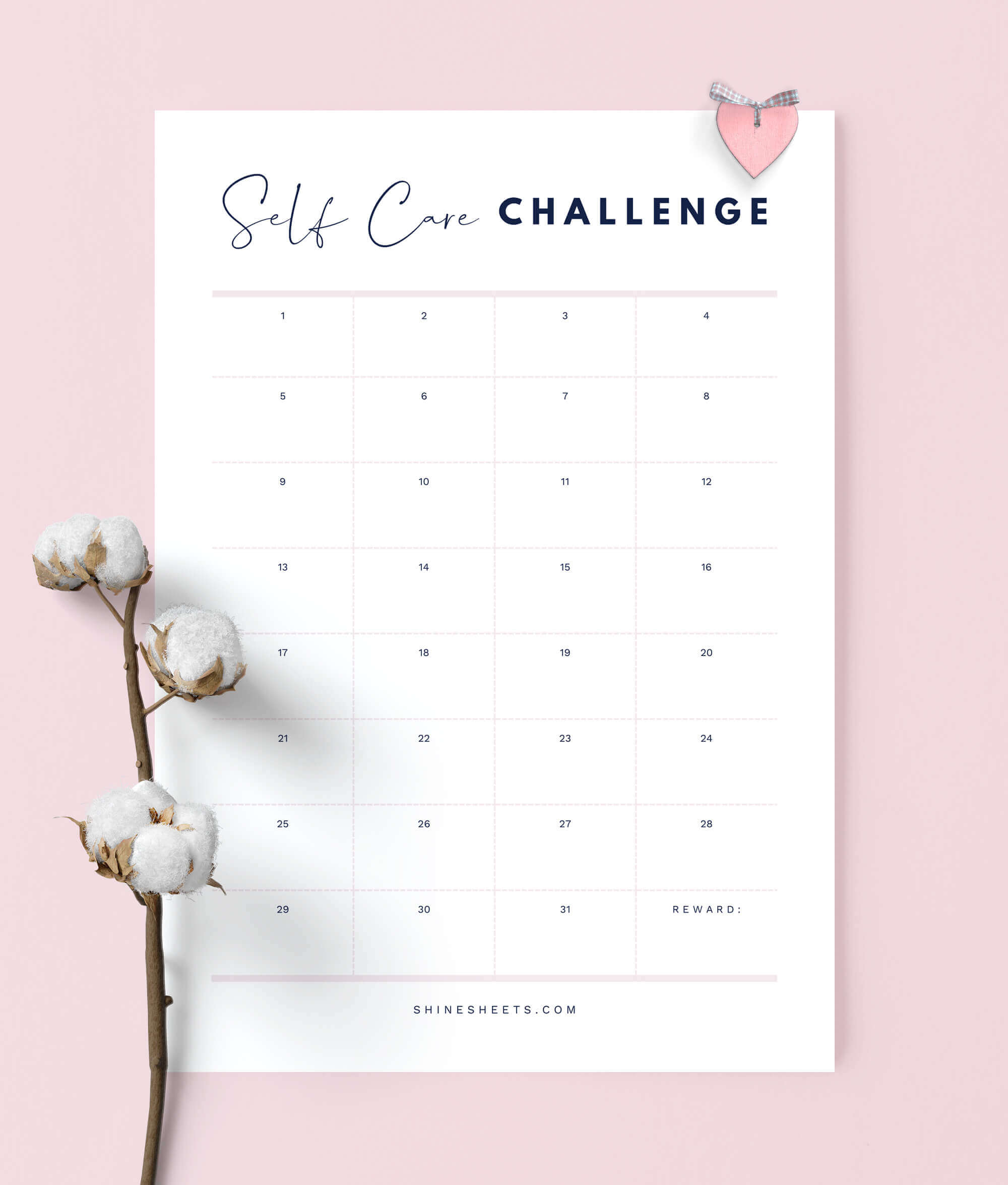 photo about Planner Printable titled Well being Planner Printable / 9 Webpages