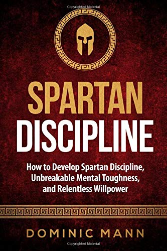 """Book cover of """"Spartan discipline"""" by Dominic Mann"""